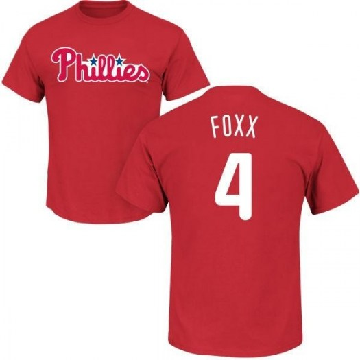 Jimmy Foxx Philadelphia Phillies Youth Red Roster Name & Number T-Shirt -